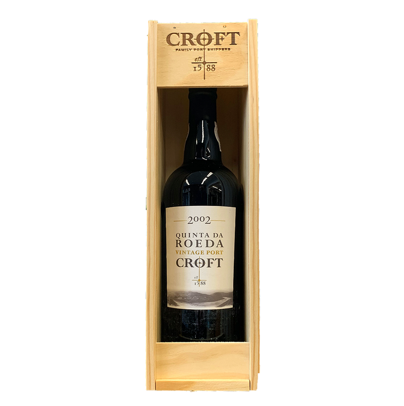 Croft Quinta da Roeda 2002/4 in wooden gift box