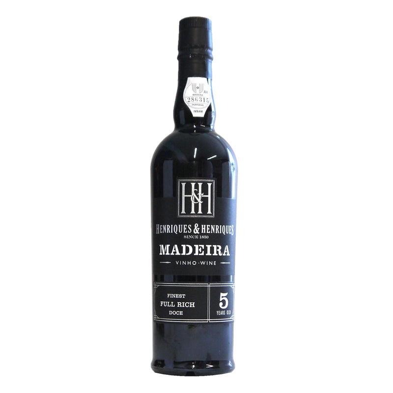 Henriques 5yr old Full Rich Madeira