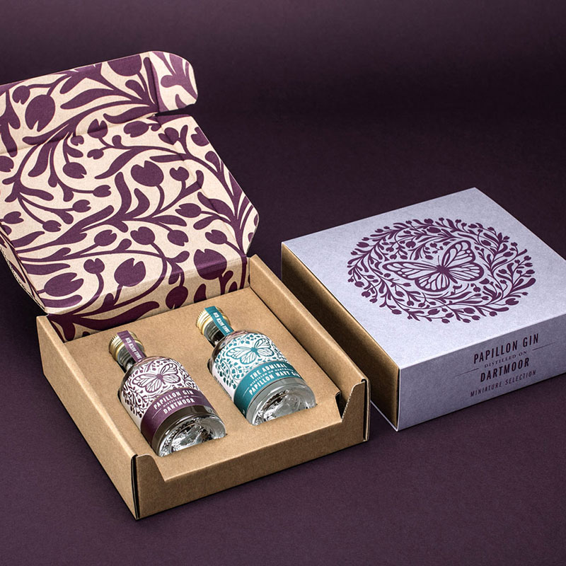 Papillon Gift boxes 2 x 5cl