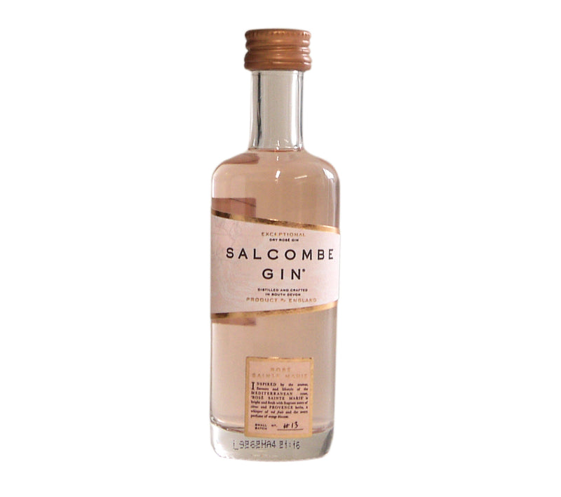 Salcombe Gin  Rose Sainte Marie 5cl mini