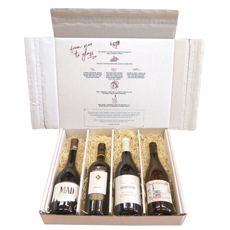 Vegan White Wine Case - Four Bottle