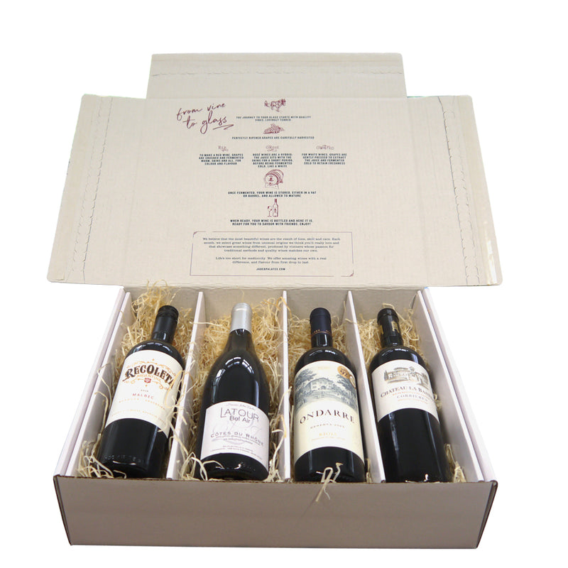Winter Reds Wine Gift Box