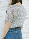 Rosa Blouse - Plaid