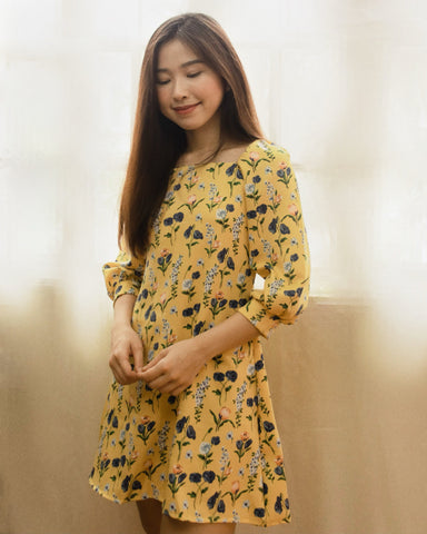 Miki Dress - Yellow