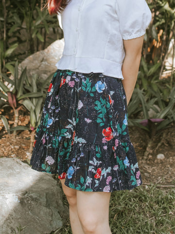 Yeona Skirt - Floral