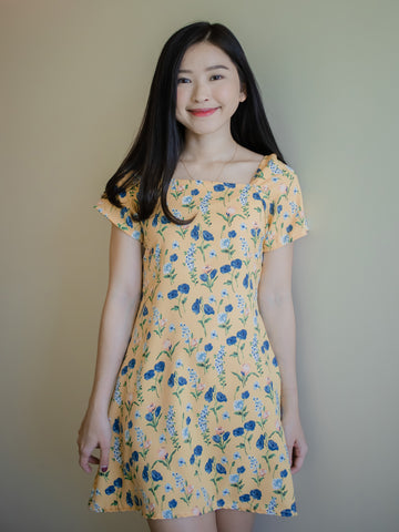 Kana Dress - Yellow