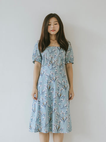 Bella Dress - Blue