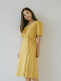 Bella Dress - Yellow