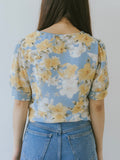 Calla Blouse - Blue