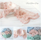 Pom Pom Lace Wraps Layers
