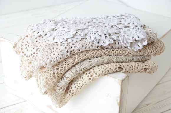 Vintage Crochet Lace Layers