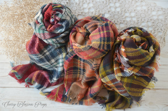 Tartan Wrap Layers AUTUMN