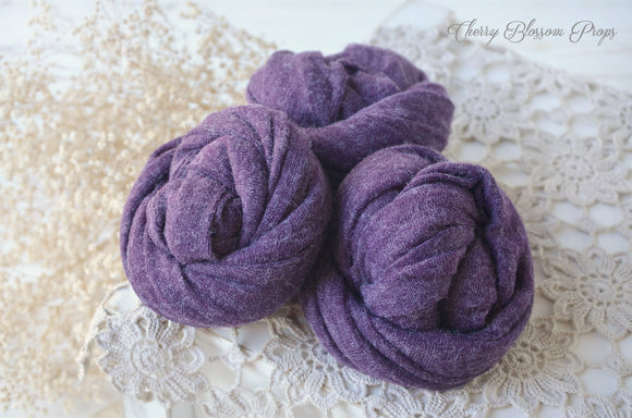 Delicate Marl Purple Wraps
