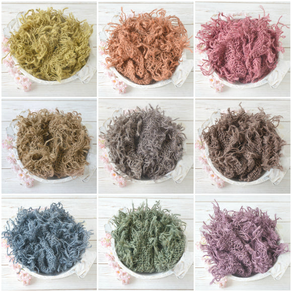 Hand Dyed CHUNKY Burlap Layers (9 Colours)