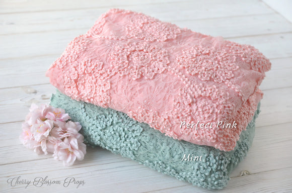 Newborn Posing Lace Fabric ROSE Photography Prop