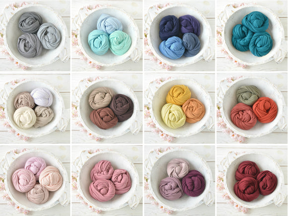 Super Soft and Stretchy Newborn JERSEY Wraps