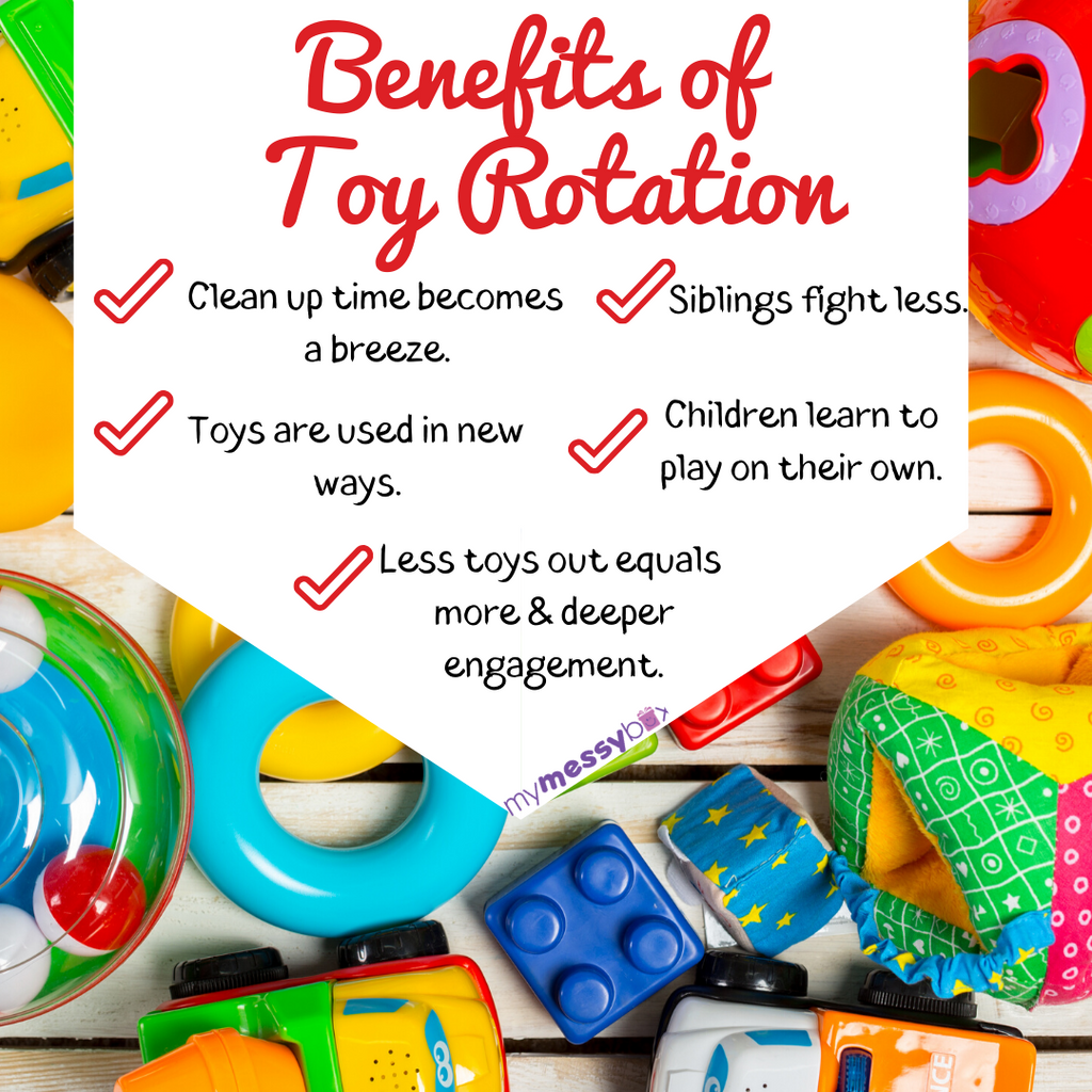 The 4-step Trick to Toy Rotation in Your Child's Playtime