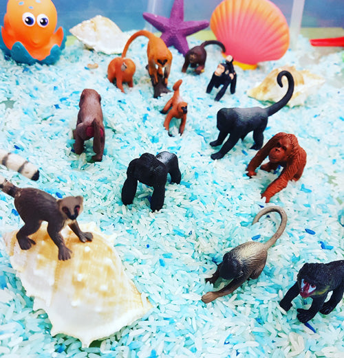 8 Animal & Dinosaur themed sensory activities for toddlers and preschoolers