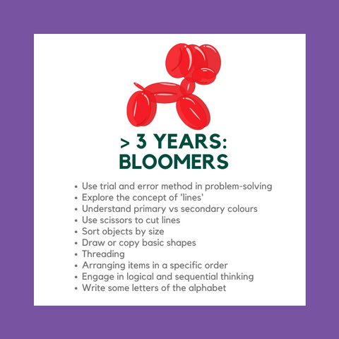 my messy box bloomers curriculum