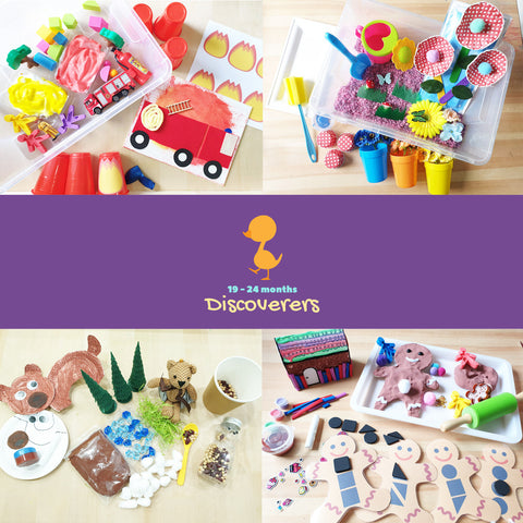 examples of discoverers sensory kits