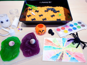 Not-so-spooky Halloween sensory set