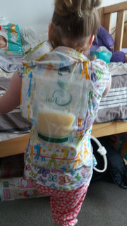 600 ml Pouch for a Feeding Tube