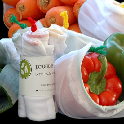 Reusable Fabric Produce Bags