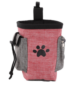 Portable Dog Training Treat Bag Puppy Snack Reward Waist Bag - Portable Doggie