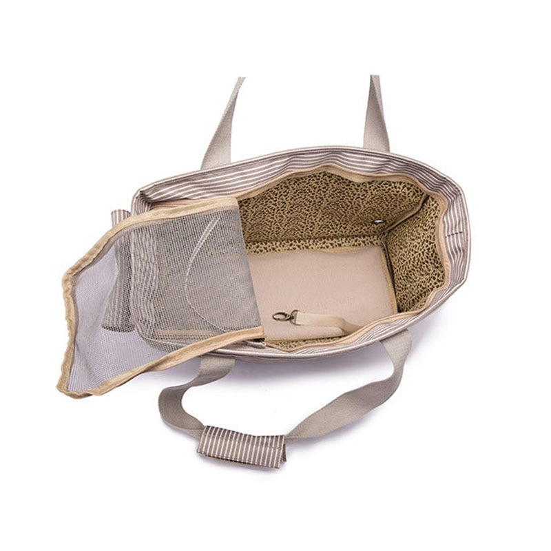 Breathable Pet Handbag Carrier | Portable Doggie