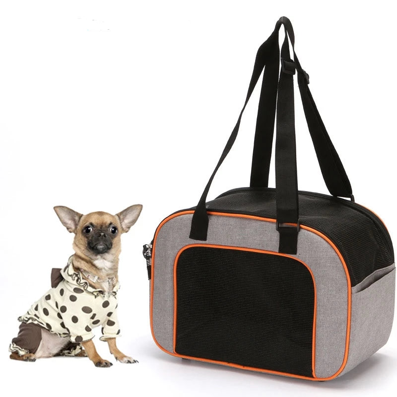Breathable Pet Travel Handbag | Portable Doggie