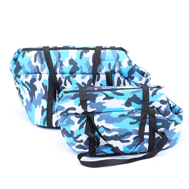 Winter Warm Pet Hand Bag Carrier - Portable Doggie