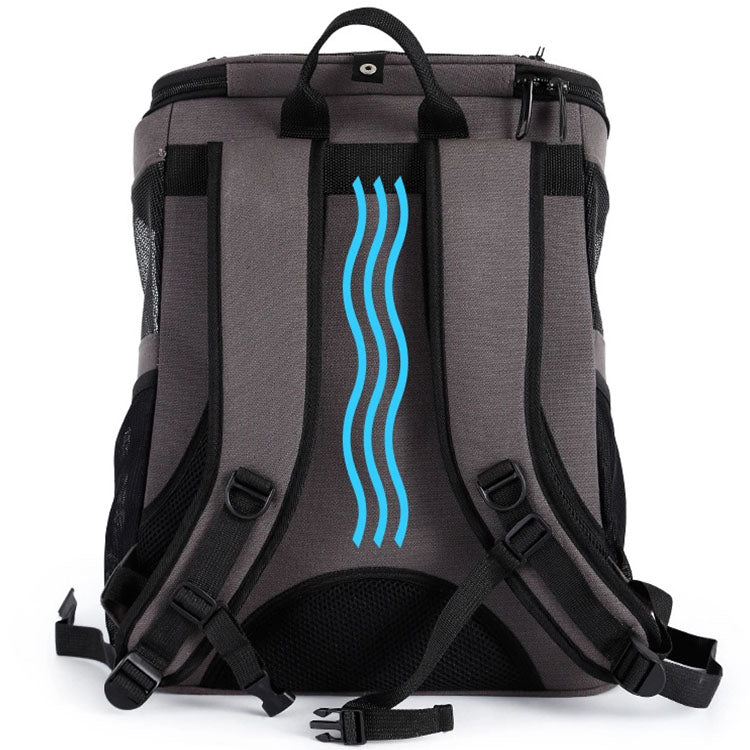 Trendy Pet Space Capsule Backpack Carrier - Portable Doggie