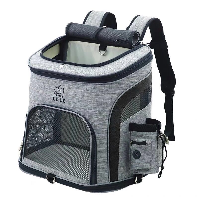 Pet Mesh Backpack Carrier | Portable Doggie
