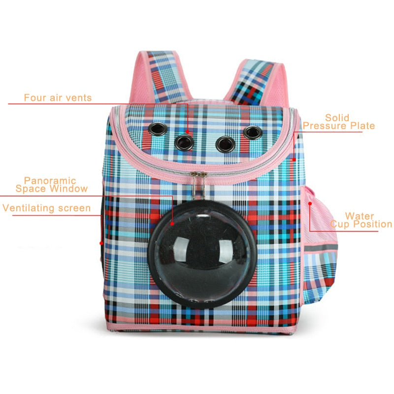 Breathable Capsule Pet Bag | Portable Doggie