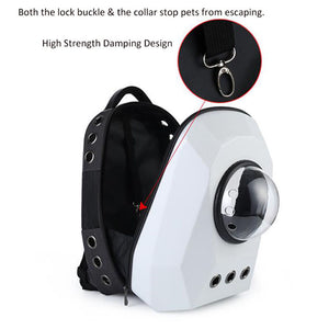 Breathable Capsule Pet Carrier | Portable Doggie