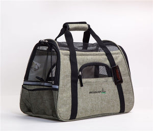 Pet Mesh Travel Bag Carrier | Portable Doggie