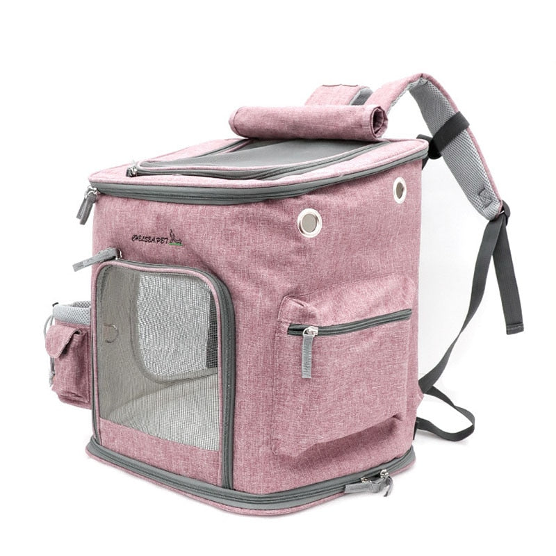 Lightweight Pet Backpack | Portable Doggie