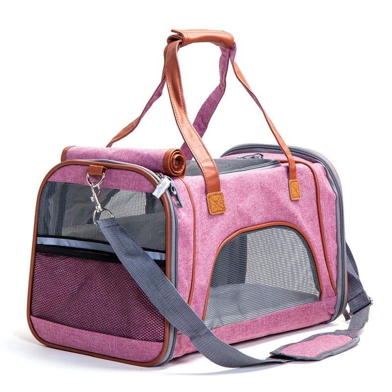Pet Travel Hand Bag Carrier | Portable Doggie