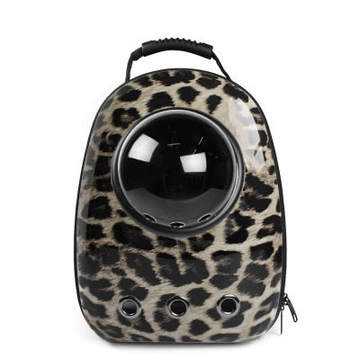 Pet Cool Texture Portable Backpack Carrier | Portable Doggie