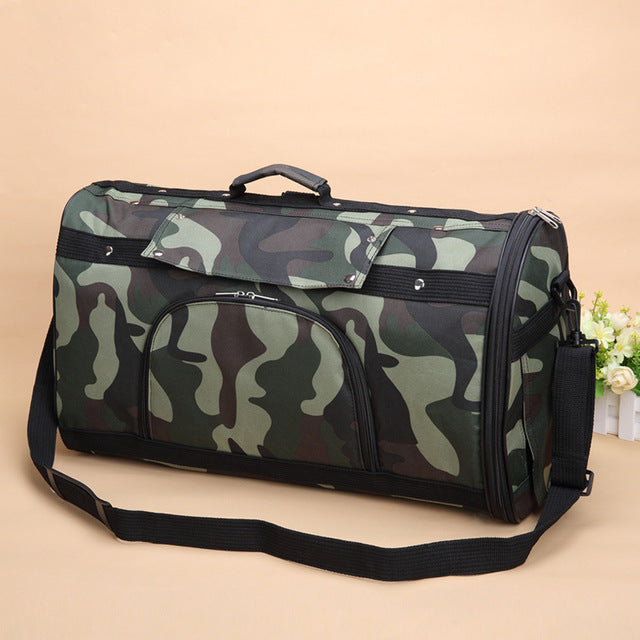 Camouflage Pet Slings Bag | Portable Doggie