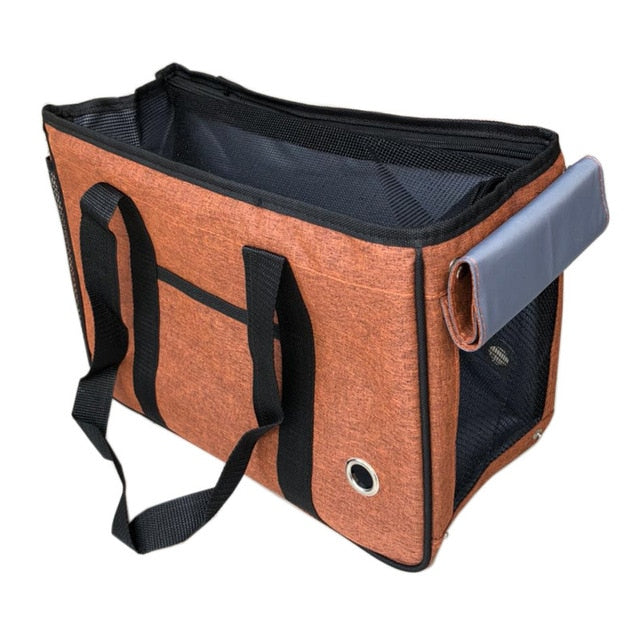 Foldable Pet Carrier Bag | Portable Doggie
