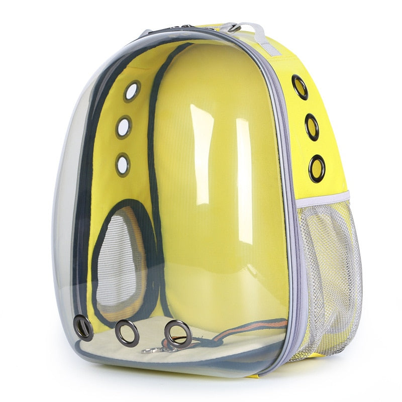 Cool Design Waterproof Breathable Pet Backpack Carrier | Portable Doggie