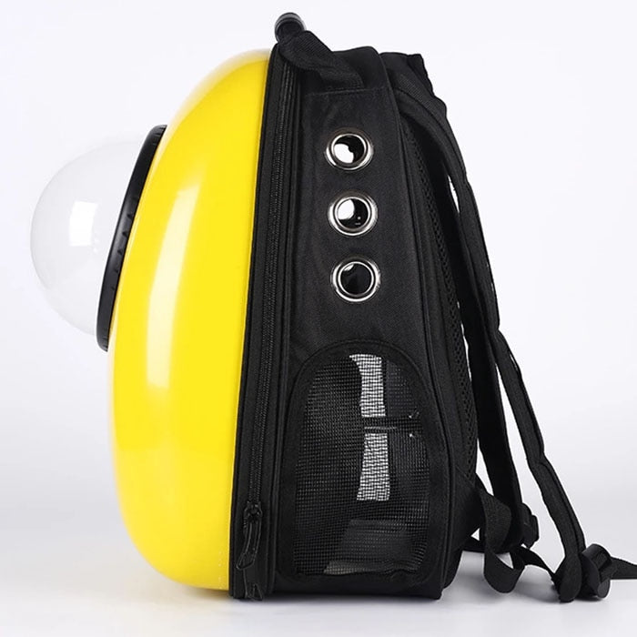 Space Capsule Pet Carrier Backpack | Portable Doggie