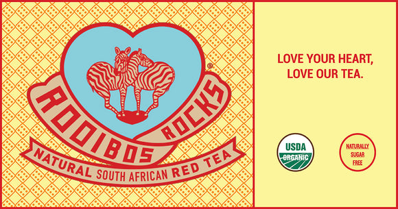 Why Rooibos Rocks and World Heart Day go so well together.