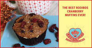 Rooibos and Cranberry Muffins