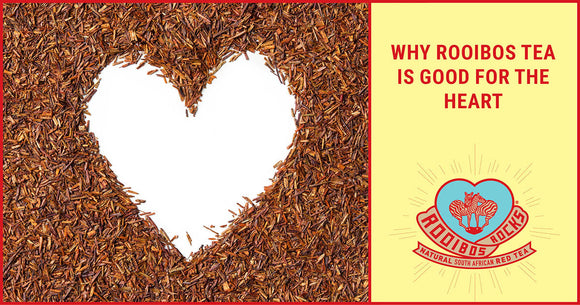 Rooibos Rocks a healthy heart