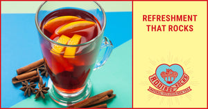 Every day feels like July 4th when you're drinking Rooibos Rocks Sangria Rocktails!