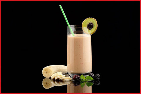 ROOIBOS, YOUNGBERRY AND BANANA SMOOTHIE