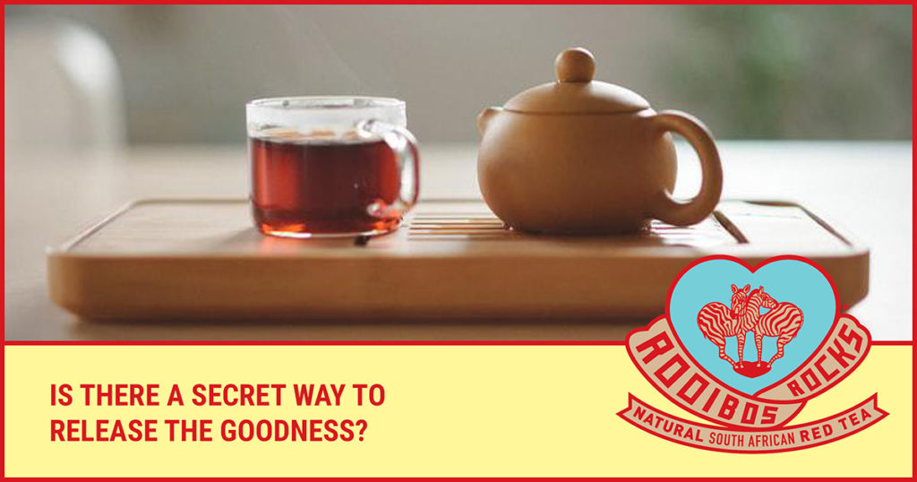 Rooibos Rocks the perfect cuppa
