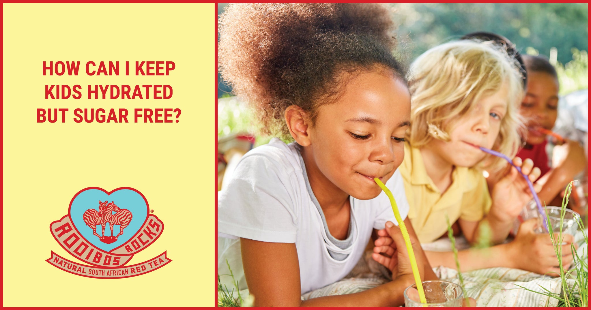 How can I keep kids hydrated but sugar free?